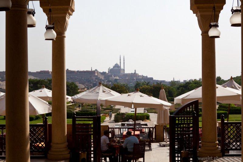 Citadel Overlook from Citadel View Restaurant in Al-Azhar Park