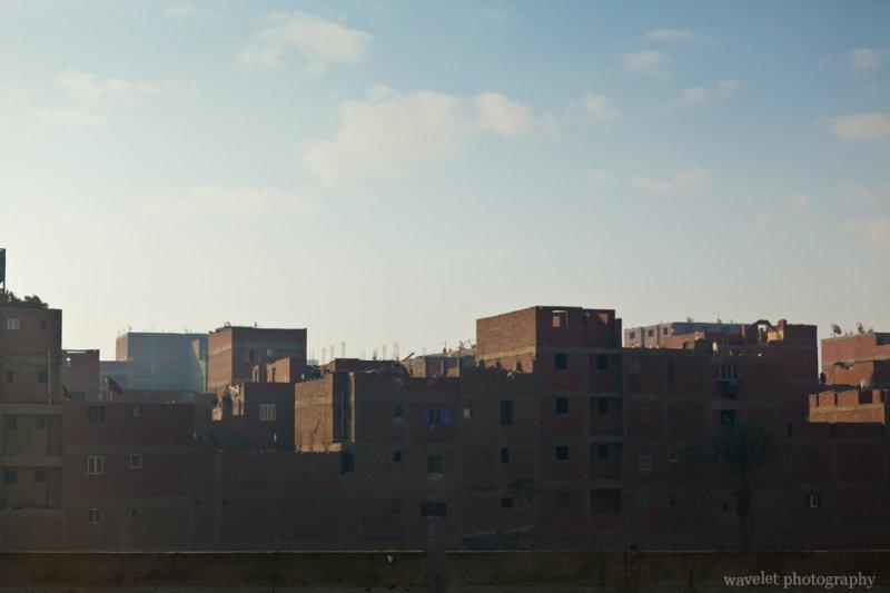 Strange-looking Buildings near Cairo