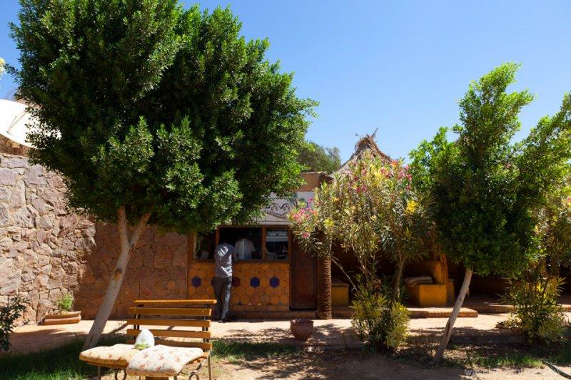Small Hotel in Bahariya Where We Transfered to a 4x4
