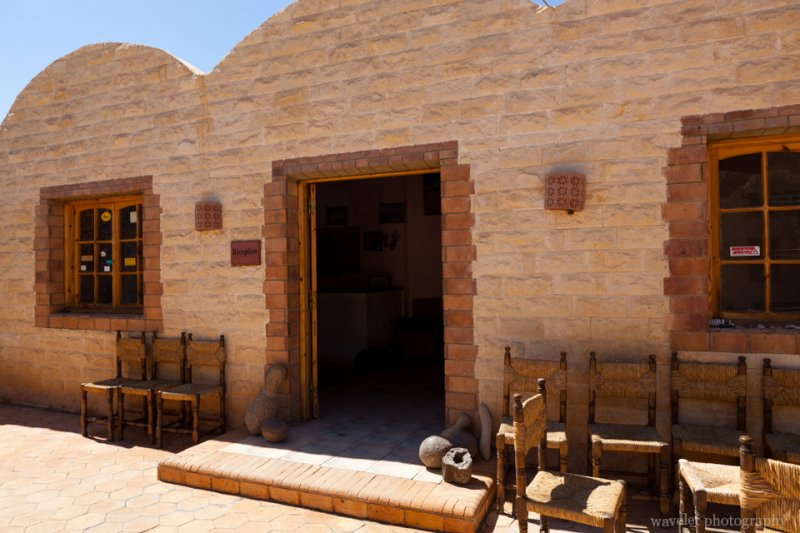 Small Hotel in Bahariya Where We Transfered to a 4x4