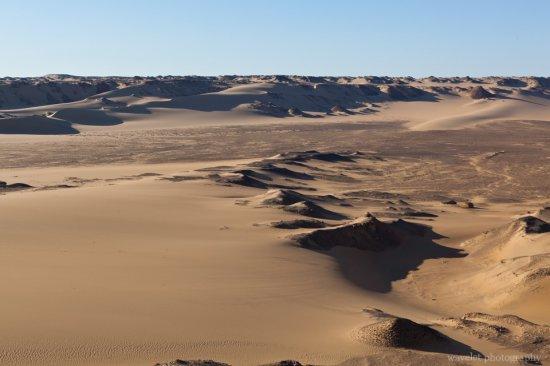 East Border of the Sahara
