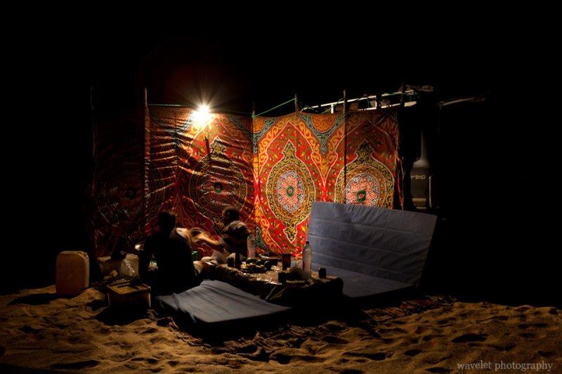 Camp in White Desert