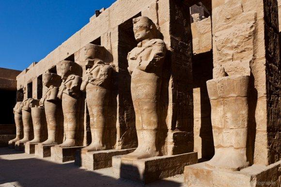 Karnak Temple, Osirian Statues