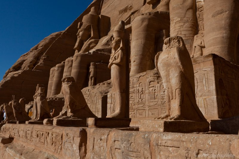 The Great Temple in Abu Simbel