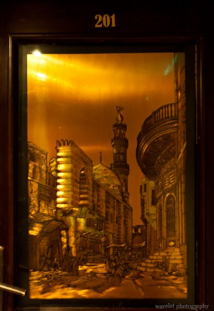 The Room Door of Philae Hotel