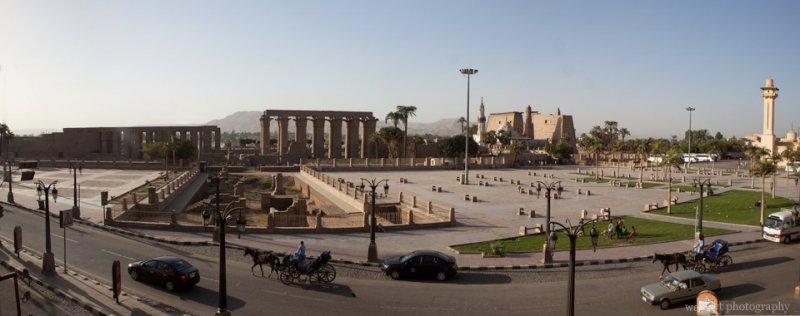 Luxor Temple Panorama
