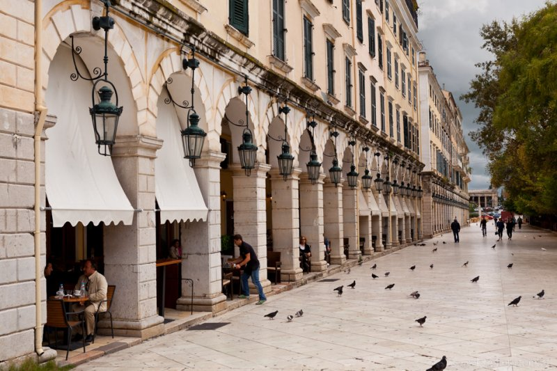 The Liston, Corfu
