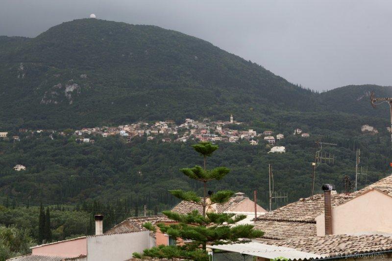 Remote Village in the Mountain, Corfu