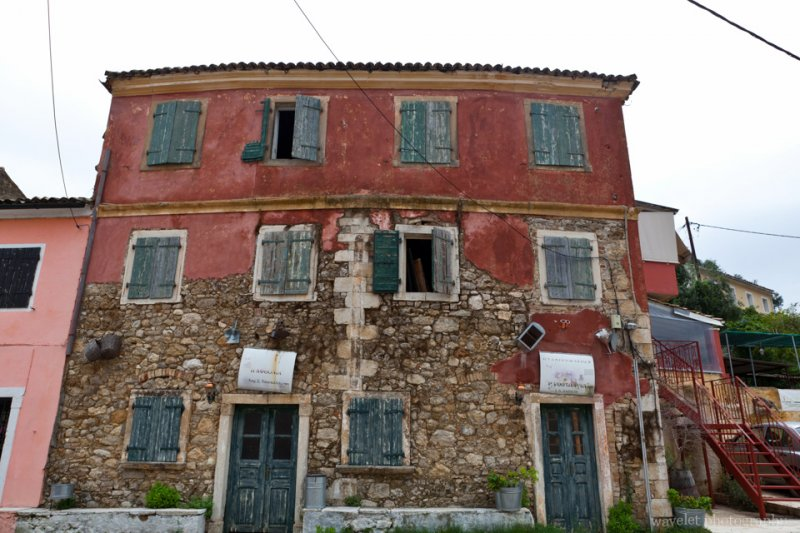 Old House in the Village, Corfu
