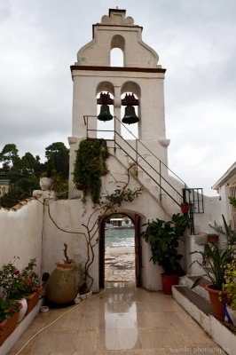 The Convent on Vlacherna, Corfu