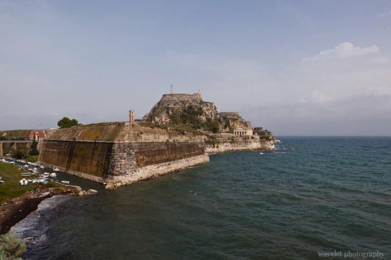 the Church of St. George, Corfu