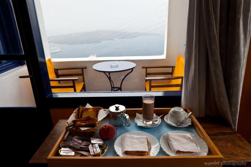 From Room of Efterpi Villas, Santorini