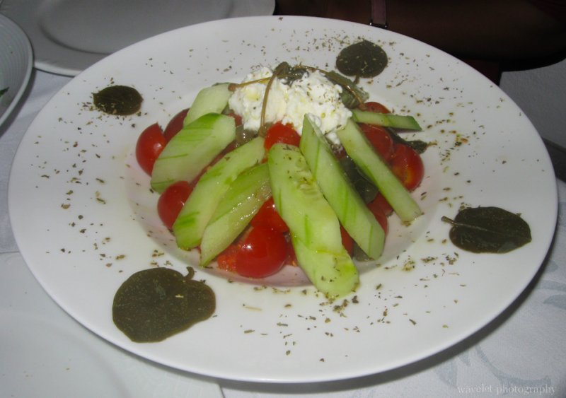 Greek Salad, Santorini