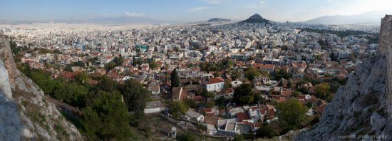 City surrounding the Acropolis, Athens