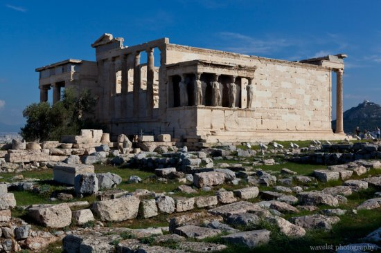 Erechtheum and  Porch of the Caryatids, Acropolis, Athens