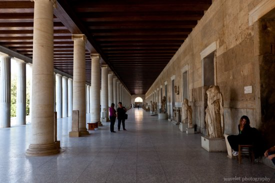 Stoa of Attalos in the Agora, Athens