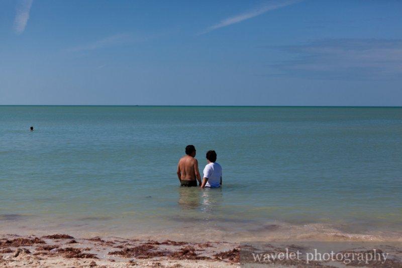 the Gulf of Mexico Coast at Celestun