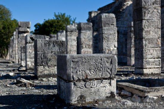 Temple of the Warriors, Chichen Itza