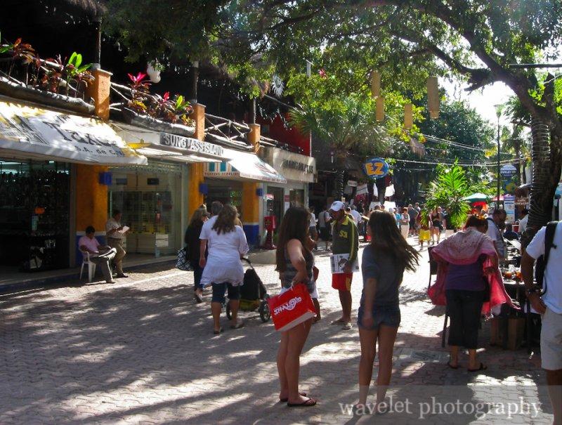 Playa del Carmen, Street