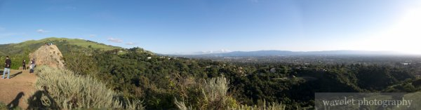 Panorama, Eagle Rock Overlook, Alum Rock Park