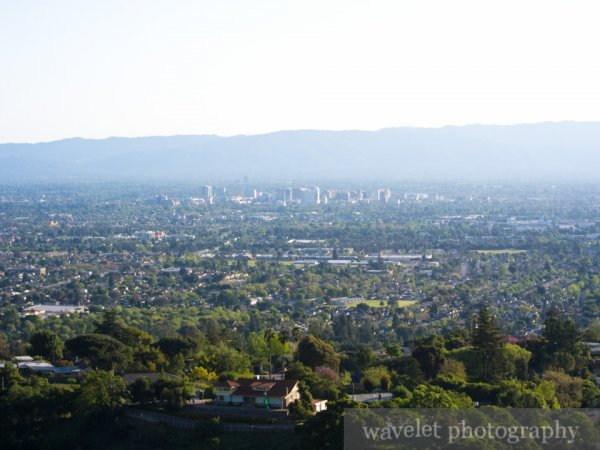 Overlook of San Jose, Alum Rock Park