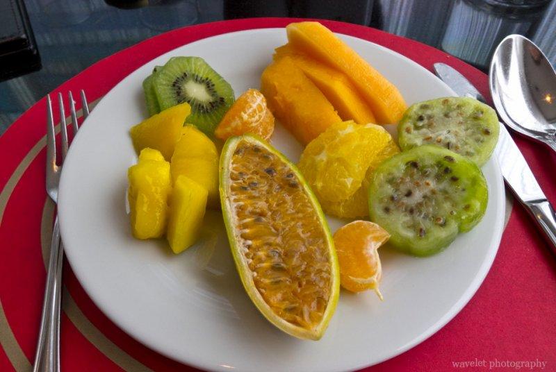 Breakfast at Radisson Hotel