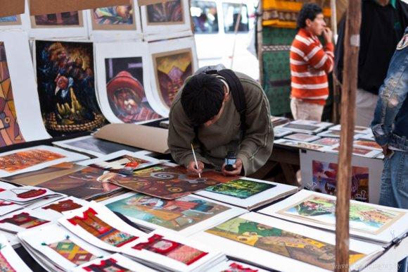 Art Stands, Písac Market