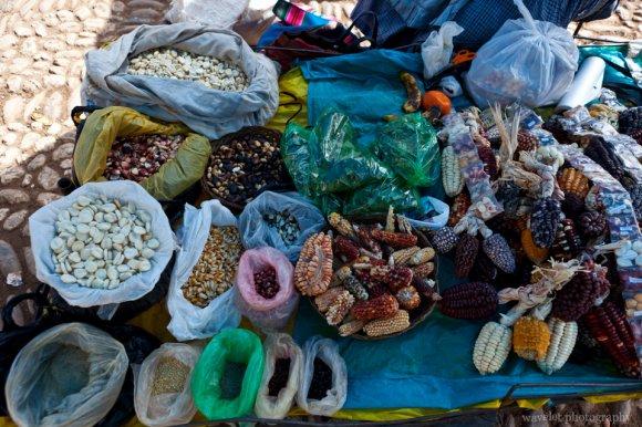 Maize, Písac Market