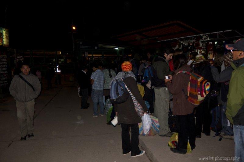 Train Station, Ollantaytambo
