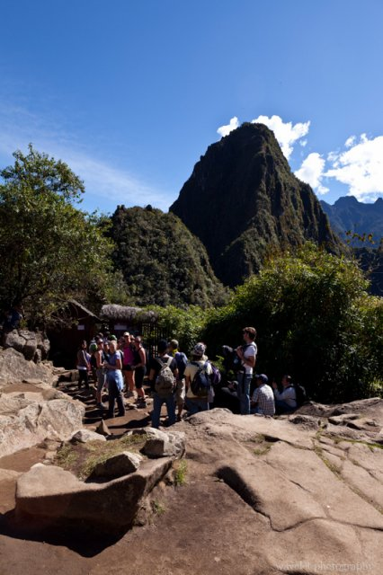 Huayna Picchu Trail Head