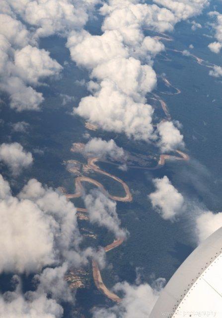 Amazon Basin and Madre de Dios River