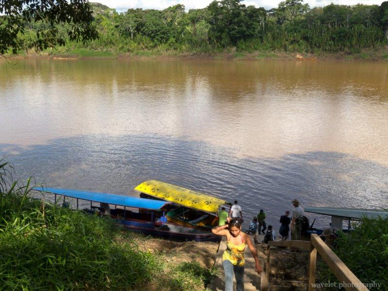 Port of the Tambopata River