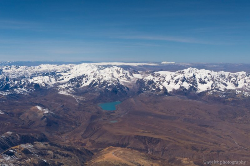 Andes Mountain Range close to Cusco