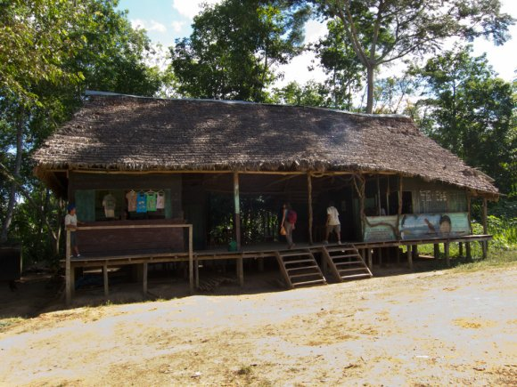 The Store at the Port of the Tambopata River
