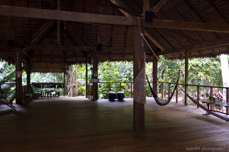 The Front Patio of Inotawa Lodge