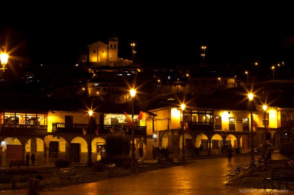 Night Scene of Plaza de Armas