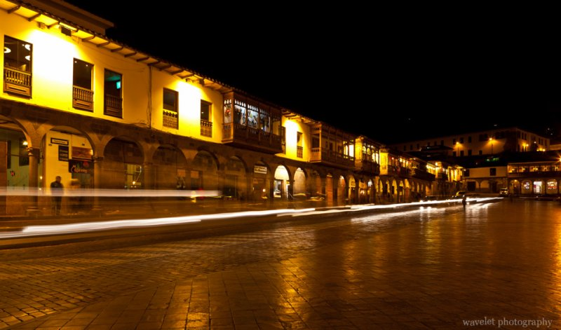 Night Scene of Plaza de Armas