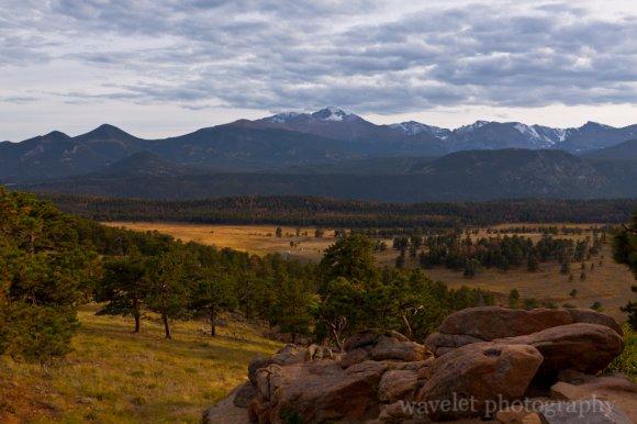Moraine Park Mountain Range, Rocky Mountain National Park