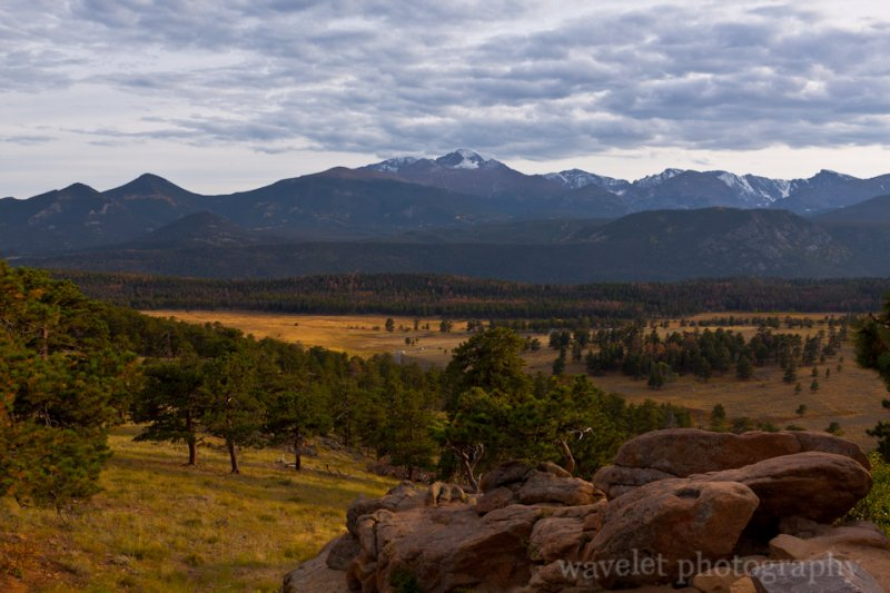 Moraine Park Mountain Range, Rocky Mountain National Park