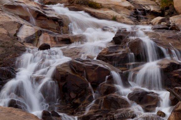 Water Fall at Alluvial Fan, Rocky Mountain National Park