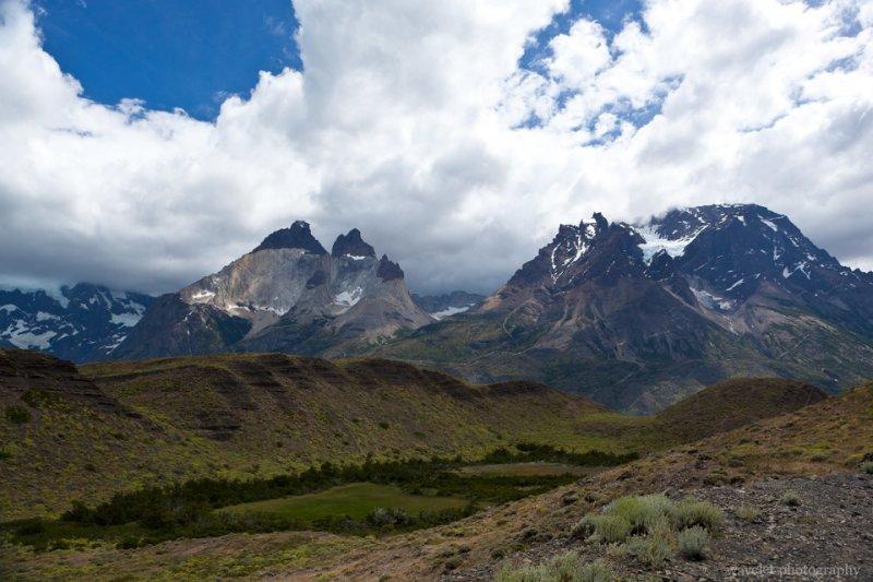 Cuernos del Paine and Monte Almirante Nieto