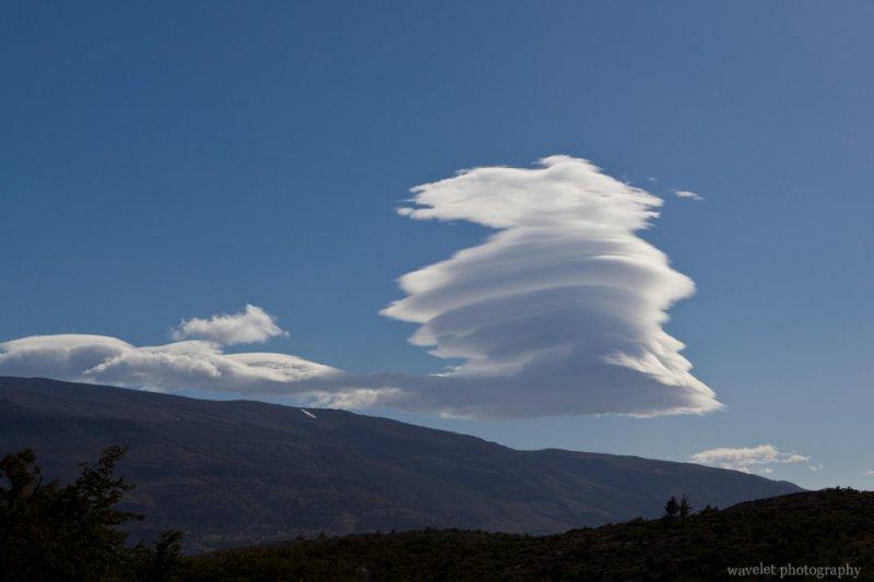 Cloud in Strange Shape