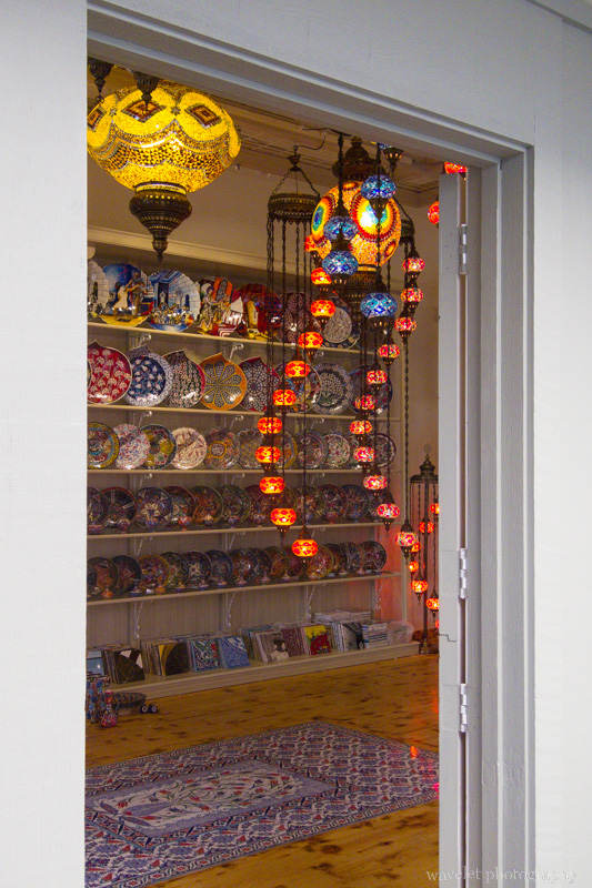 A Turkish decoration store, Carmel, CA
