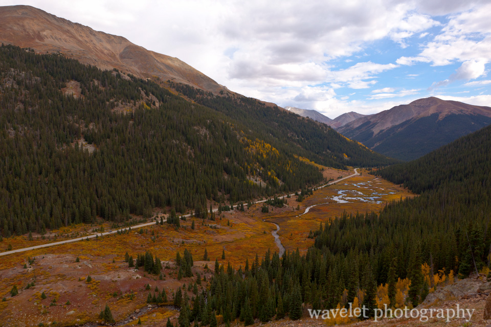 The Road Leading to the Independence Pass