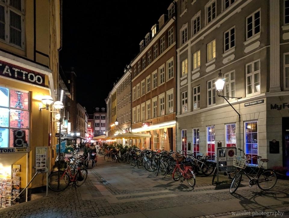 Bikes in Copenhagen