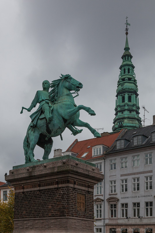 Equestrian statue of Absalon, Copenhagen