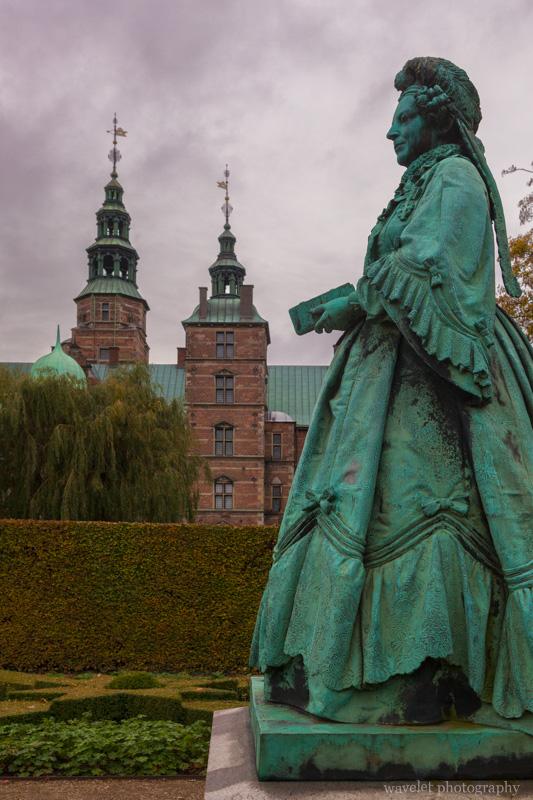 Queen Caroline Amalie, Rosenborg Castle Garden, Copenhagen