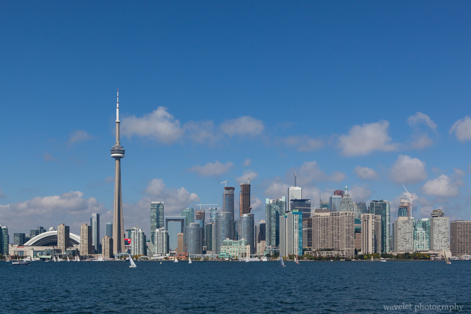 Toronto skyline, from Centre Island Ferry
