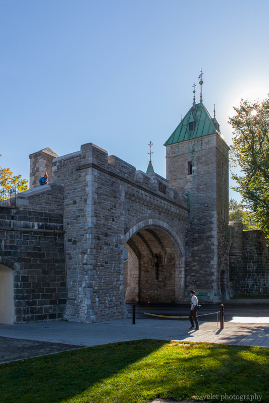 Porte St. Louis, part of the Ramparts of Quebec City