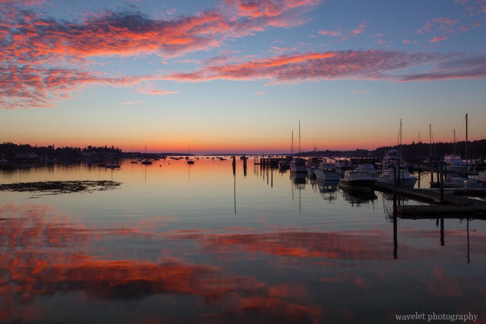 Sunrise, Southwest Harbor, Acadia National Park, Maine